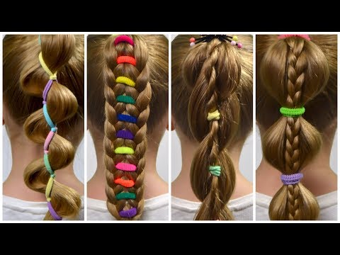 Xxx Mp4 TOP 4 PERFECT Ponytails With ElasticsHOW TO BRAID FOR BEGINNERSBraid Tutorial 3 3gp Sex