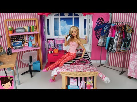 Xxx Mp4 Barbie Youtube Morning Routine Pink Bedroom Tour Make Up Tutorial Fun Toy Videos 3gp Sex