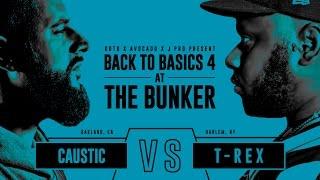 KOTD - Rap Battle - Caustic vs T-Rex | #B2B4