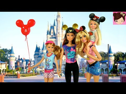 Xxx Mp4 Barbie Sisters Go On A Trip To Disney World Park Barbie Family Holiday Vacation 3gp Sex
