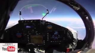 Eurofighter Typhoon 2014 HD - Flight Wales & Lake District - Cockpit View