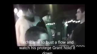Rare Tech N9ne Live at Grant Rice and Mac Lethal Rap Battle in 2000. Mardi Gras Kansas City