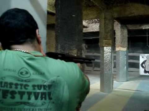 Espingarda calibre 12 marca Boito