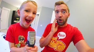 MY SON SHAVES MY BEARD OFF!