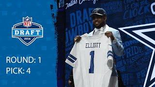 Ezekiel Elliott (RB) | Pick 4: Dallas Cowboys | 2016 NFL Draft