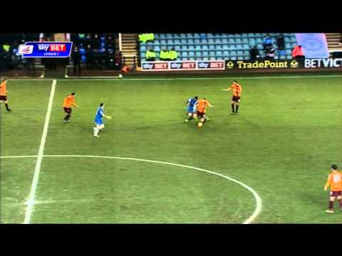 Peterborough United vs Bradford City - League One 2013/14