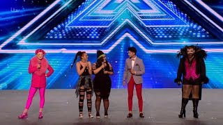The X Factor UK 2017 Group 9 Bootcamp Full Clip S14E09