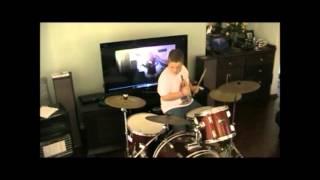 Reece Berkeley Drumming to Flash republic - Twister