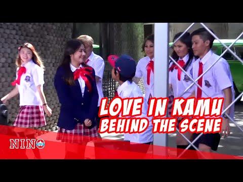 Keseruan keluarga Uya Kuya nemenin Nino syuting (Love in Kamu Behind The Scene - Nino Kuya)