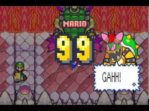 Mario & Luigi Superstar Saga 5000 damage glitch English version only