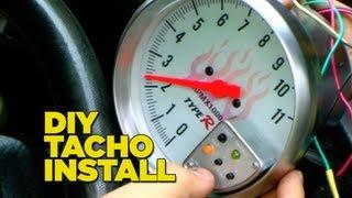 How To Install a Tacho Gauge