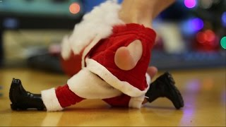 Finger Dancing Santa - Merry Christmas Greeting