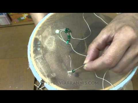 32 Aguja para bordar lentejuela y rocalla