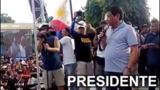 Mayor Duterte Homecoming at Danao City, Cebu
