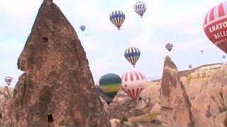 Turismo por el mundo: la Capadocia en globo