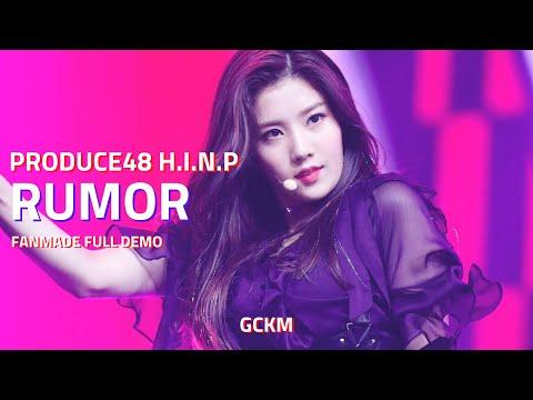 Download Lagu [AUDIO] PRODUCE 48 (프로듀스 48) - RUMOR (MOOMBATON/TRAP) MP3