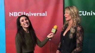 Brandi Glanville @ NBC Universal's Winter Press Tour Event | AfterBuzz TV