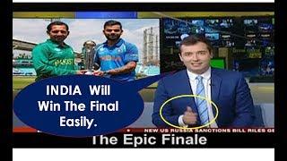 British Media on INDIA vs PAKISTAN Final Match | ICC Champions Trophy 2017 | The Epic Clash | Latest