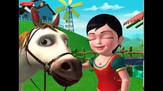 Horse Song - Our Animal friends (Telugu)