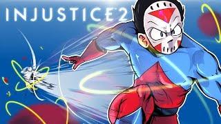 INJUSTICE 2 - ATOM CHARACTER DLC! Vs Cartoonz!