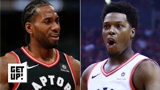 Kawhi could leave the Raptors in free agency if Kyle Lowry can't perform - Jalen Rose | Get Up!