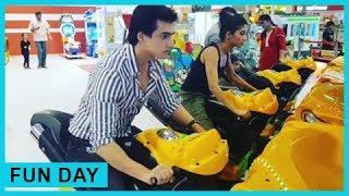 Mohsin Khan aka Kartik And Shivangi Joshi aka Naira Fun At Gaming Zone | Yeh Rishta Kya Kehlata Hai