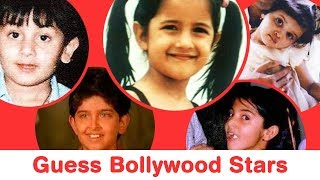 Guess 25 Bollywood Actors and Actresses from Their Childhood Pictures