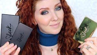 Sleek Makeup Tutorial | Review & Wear Test