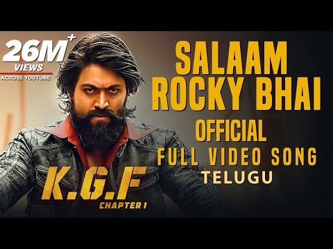 Xxx Mp4 Salaam Rocky Bhai Full Video Song KGF Telugu Movie Yash Prashanth Neel Hombale Films 3gp Sex