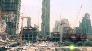 Al Habtoor City Construction Time-lapse (April 2012 – August 2015)