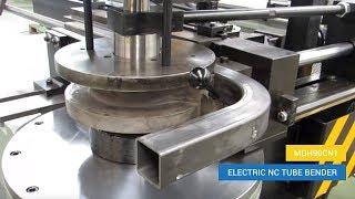 Electric NC tube bending machine MDH90CN1 - Square tube bending