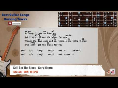 Xxx Mp4 Still Got The Blues Gary Moore Guitar Backing Track With Vocal Chords And Lyrics 3gp Sex