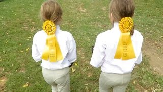 First Barn Horse Show!