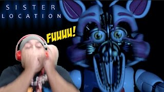 WHAT THE F#%K FOXY!!? [FNAF: SISTER LOCATION] [NIGHT 3]
