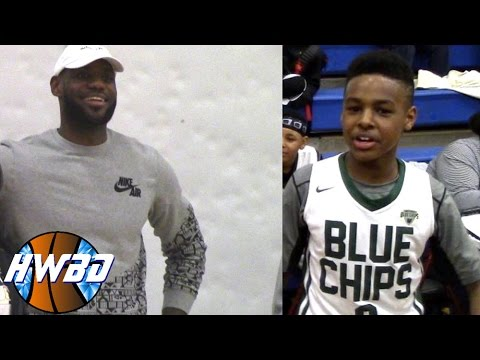 Lebron James Jr. Is a PROBLEM Shows Out in Ohio