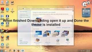 Tutorial - How to Download Windows 7 Themes Free and Install Them