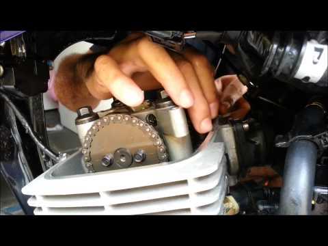 CG 150 Como efetuar a regulagem das válvulas com minimo de ferramentas possíveis
