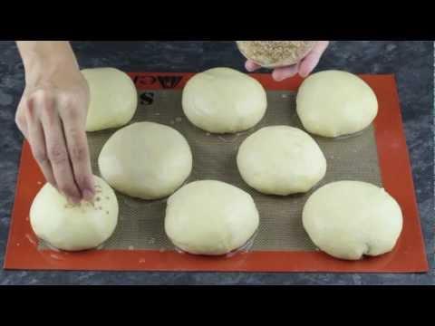 Panecillos de hamburguesa