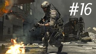 Call of Duty 4 Modern Warfare Walkthrough Part 16 Mission 16 [ No Fighting In The War Room ]