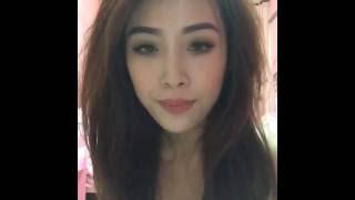 Kem Pinky nhận thử thách của Linh Miu quấn khăn nhảy NuDance