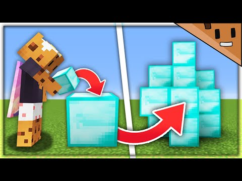 Minecraft But Every Block You Place Multiplies