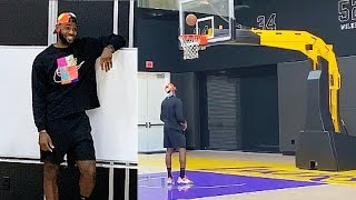 LeBron James Bored & Playing By Himself After Missing Playoffs!