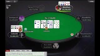 $5200 WCOOP Final Table PLO Rail!!! (Cobus, tjbentham Chip Leaders)