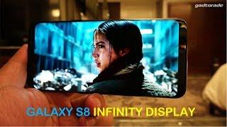 Galaxys8 Infinity Display