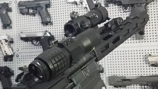 4X FTS MAGNIFIER / AIRSOFT Flip To Side / FOR EOTECH TYPE SCOPES AND RED DOT SIGHTS