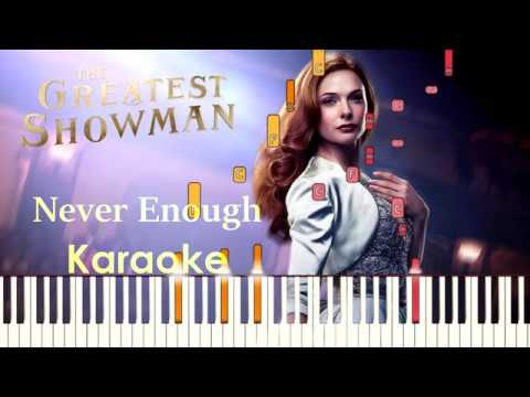 Never Enough Karaoke