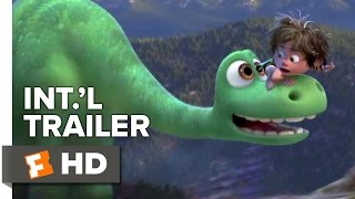 The Good Dinosaur Official International Trailer #1 (2015) - Animated Movie HD
