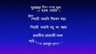 দুহাততে দিছা মোক ফুল.. duhatote..disa muk phool, song of Dolly Ghosh..by Rupam Mahanta