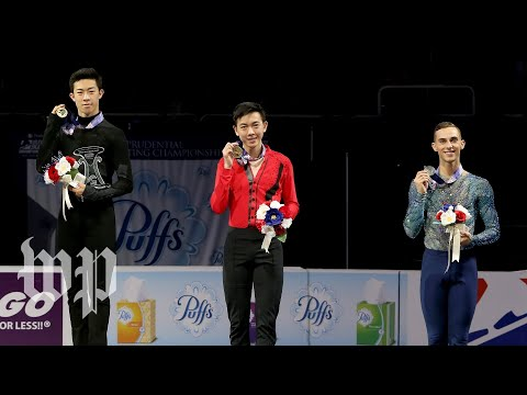 Chen Zhou Rippon Get to know the U.S. Olympic men's figure skaters
