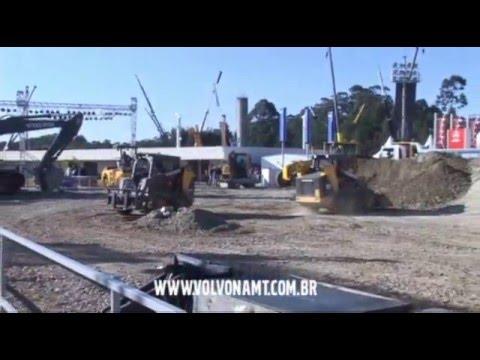 Volvo na M&T Show de Máquinas Minicarregadeiras